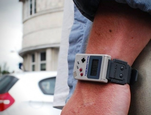 Nintendo Game Boy Watch » Design You Trust – Design Blog and Community #boy #game #nintendo #watch