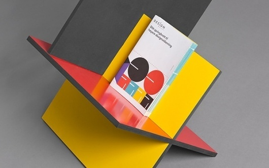 Designinstituttet on the Behance Network #minimalistic #stand #design #color #geometric #exhibition #industrial #brochure