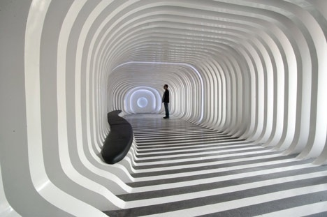 Dezeen » Blog Archive » Zebar by 3GATTI Architecture Studio #3gatti #sculpture #design #space #people #architecture #studio