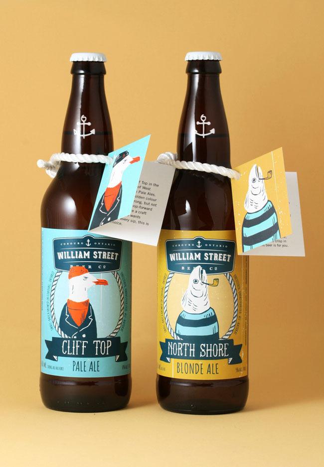 Beer Label Design #packaging