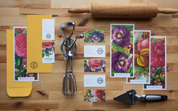 stationery #pies #design #branding