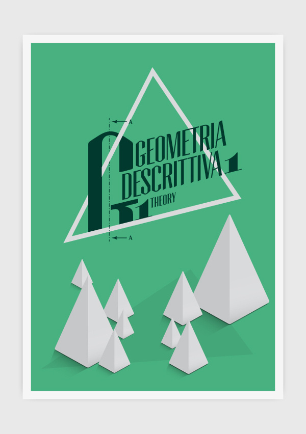 BOOK COVERS #geometria #book #geometric #cover #green