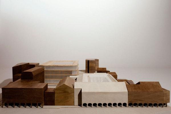 CJWHO ™ (M9 Cultural Pole Entry, Venice by David...) #model #design #venice #concept #competion #architecure