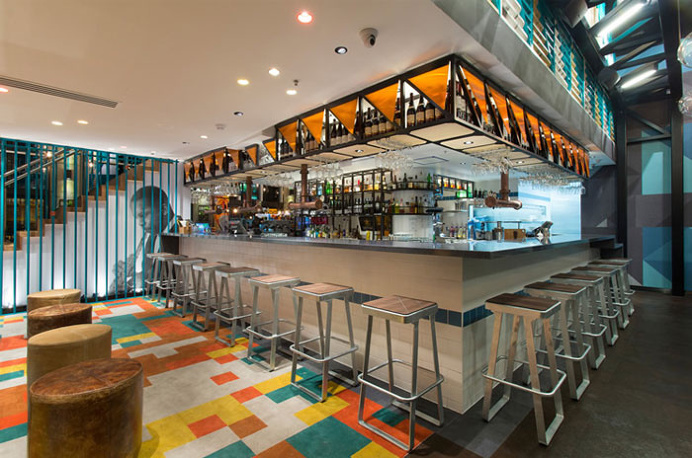 Industrial Chic Cafe design by Studio Equator