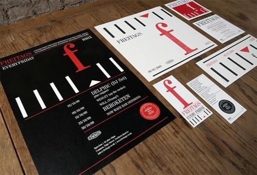 Freitags   Identity Designed #layout #presentation #branding