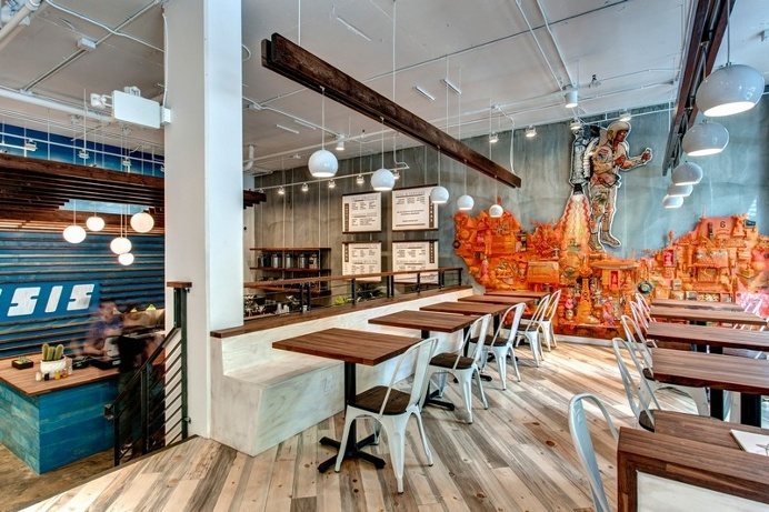 Oasis Tea Zone in Capitol Hill, Seattle / Board and Vellum