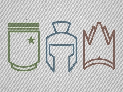 Dribbble - Army - Centurion - Kingdom by Dustin Addair #addair #giving #centurion #church #icons #wave #dustin #awesomeness