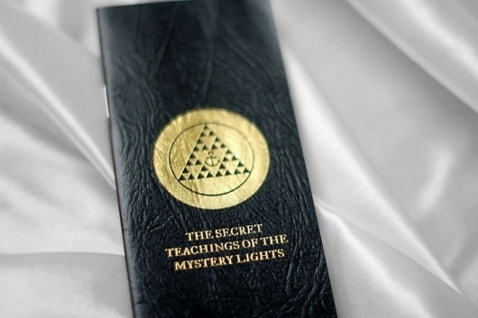 YACHT △ THE SECRET TEACHINGS OF THE MYSTERY LIGHTS #design #graphic #book