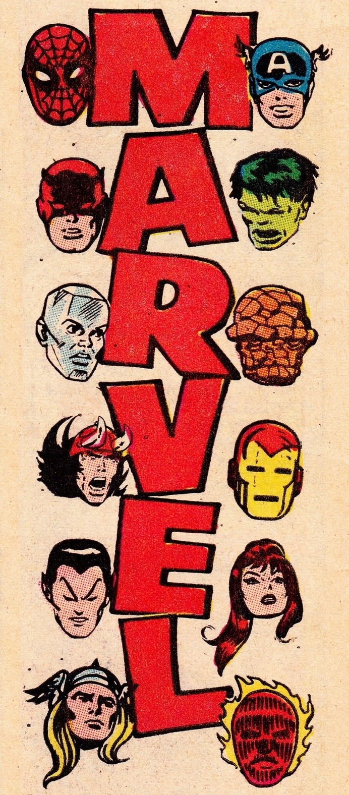 thecomicsvault: M A R V E L Â C O M I C SÂ #dare #hulk #thor #spiderman #captain #nostalgia #iron #comic #devil #illustration #vintage #marvel #america #man