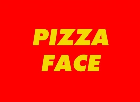 tumblr_lz53vaVyU91royrwzo1_1280.jpg 1,280×941 pixels #face #yellow #red #pizza