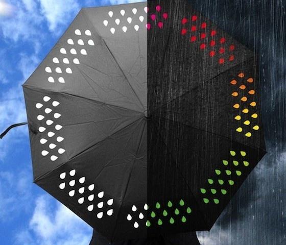 Colour Change Umbrella #gadget