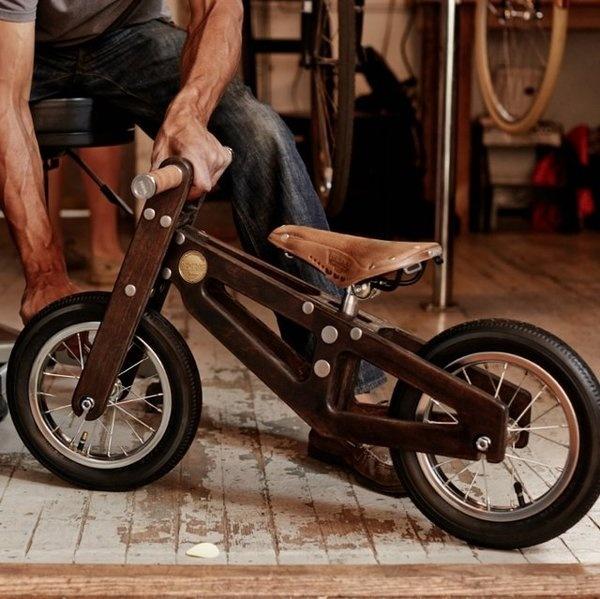 Bennett Balance Bike #wood #gadget #bike