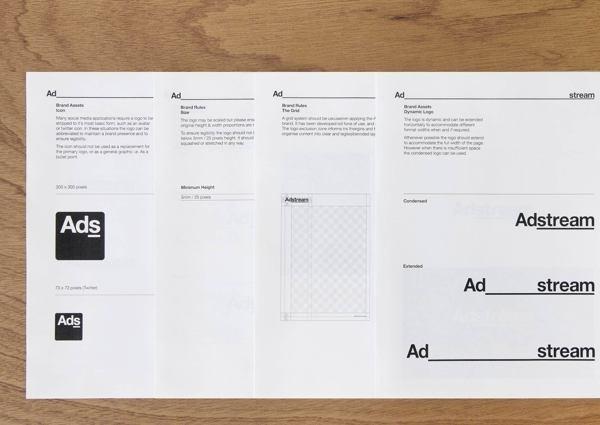 Adstream Brand Identity on Behance #logotype #guidelines #brand #identity #adstream