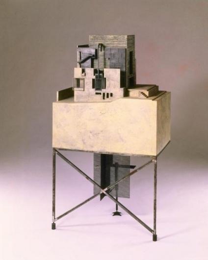 Morphosis Model Bjorn Buckley: Sixth Street Residence Model