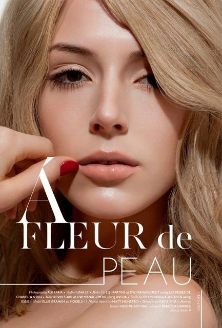 A Fleur de Peau #volt #photography #fashion #voltcafe #magazine #beauty