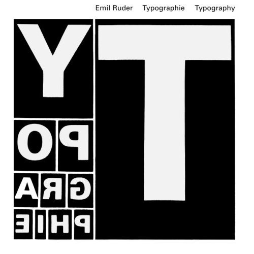 Typography: A Textbook of Design #white #book #black #typography
