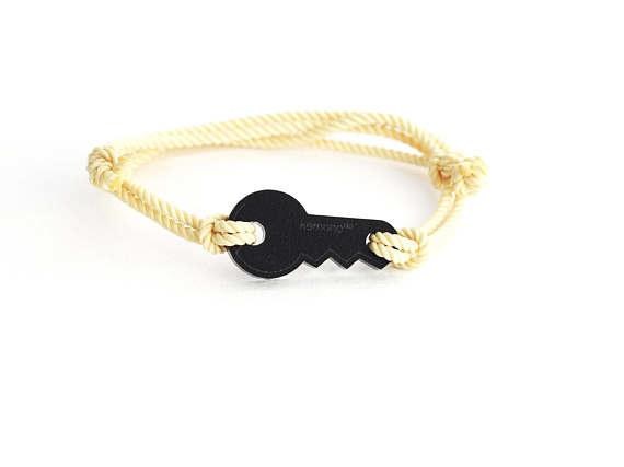 Key Kemono #bracelet / #wristlet - black edition - plexi #key #product