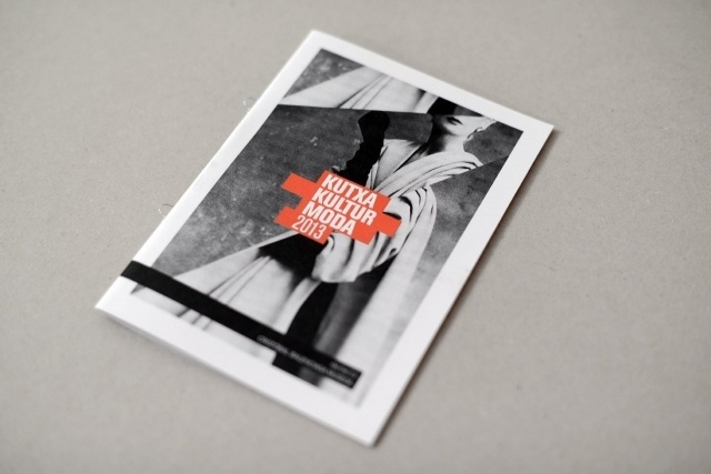 Husmee - Estudio Graphique! Kutxa Kultur Moda 2013 #fashion #layout #photography