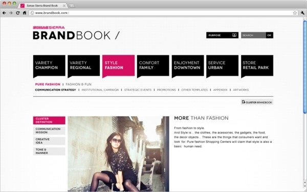 Brand Book. on Behance #web