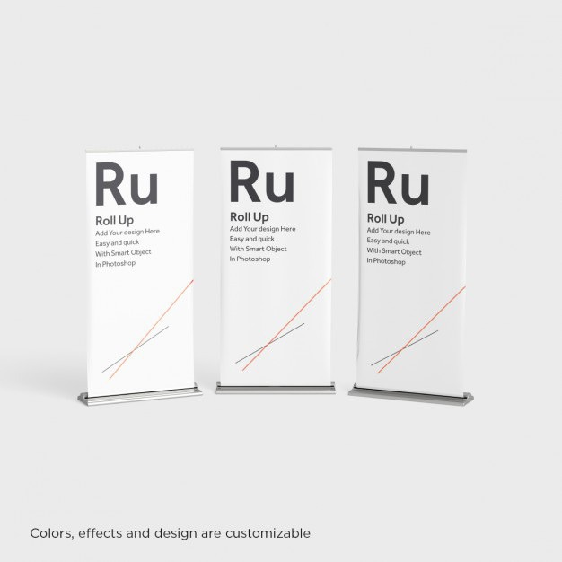 Three roll ups presentation Free Psd. See more inspiration related to Mockup, Template, Roll up, Promotion, Presentation, Advertising, Mock up, Roll, Mockups, View, Up, Three, Editable, Realistic, Custom, Front, Mock ups, Mock, Customize, Ups and Customizable on Freepik.