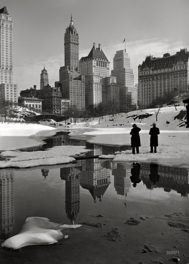 Winter Palace: 1933 | Shorpy Historic Photo Archive #white #black #photography #building #and #york #nyc #new