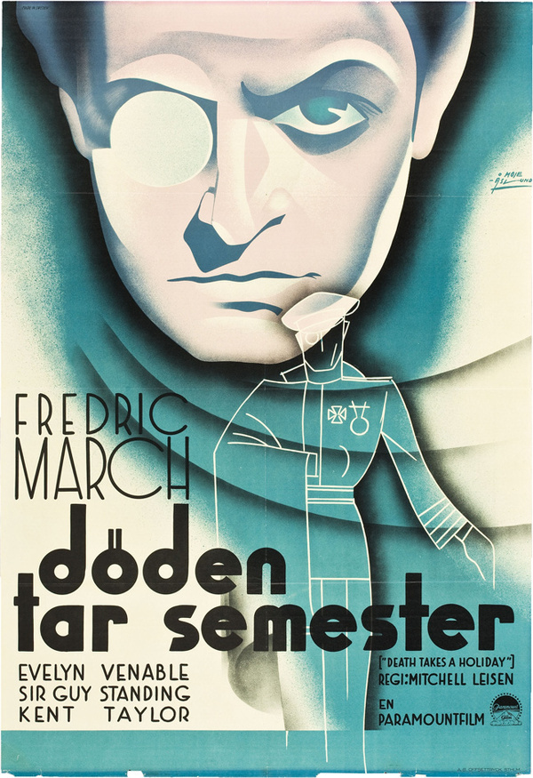 20 Swedish Posters for 1930s Hollywood 50 Watts #movie #lettering #illustration #vintage #poster #film #hand
