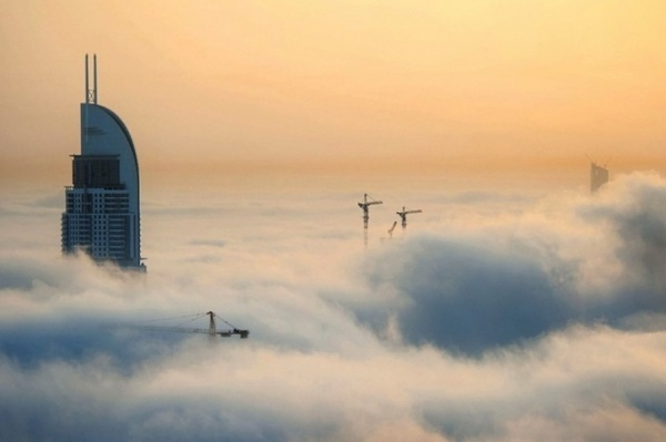 Cloudlands of Dubai by Sebastian Opitz #photography #landscape