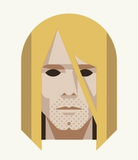 """OMG Posters! » Archive » """"27 Club"""" Mini Print Set by DKNG #27 #cobain #curt #dkng #club"""