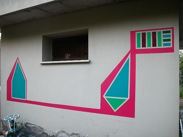 Minimal Spray Paint Art by Marco Migani   Art Sponge #migani #graffiti #design #paint #art #street #spray #marco