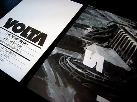 Muller — VOLTA #logotype #print #card #business