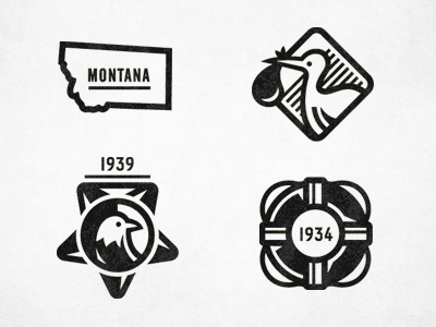 Dribbble_anc_badges #montana #icons #badges #bird