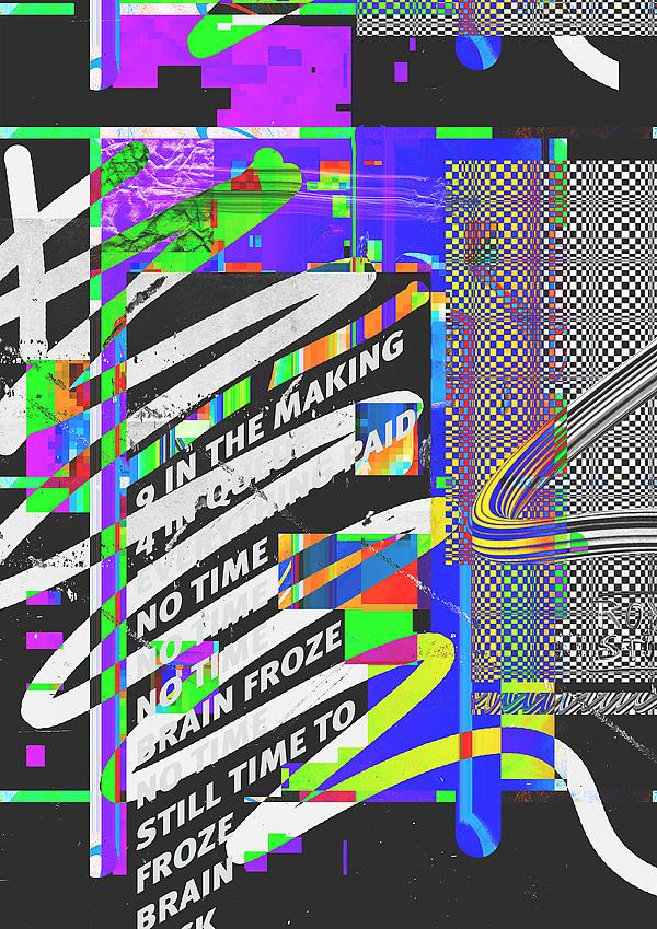 Royal Studio | PICDIT #design #graphic #glitch #poster #art #type