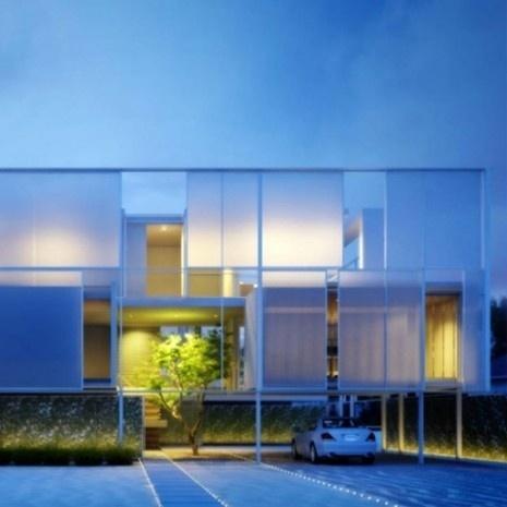 Minimalist Long Island House in New York | Modern House Design, Modern Architecture, Home Plans, Modern Houses, Architecture Designs #house #architecture #minimal #modern