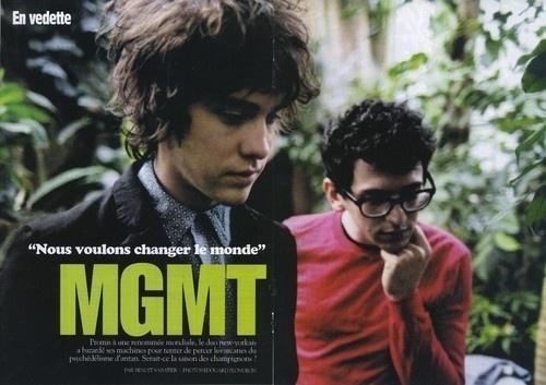 Likes   Tumblr #mgmt #portrait #band