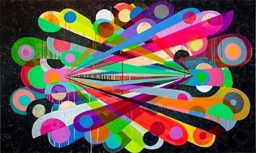 Maya Hayuk - BOOOOOOOM! - CREATE * INSPIRE * COMMUNITY * ART * DESIGN * MUSIC * FILM * PHOTO * PROJECTS #maya #colors #hayuk #art