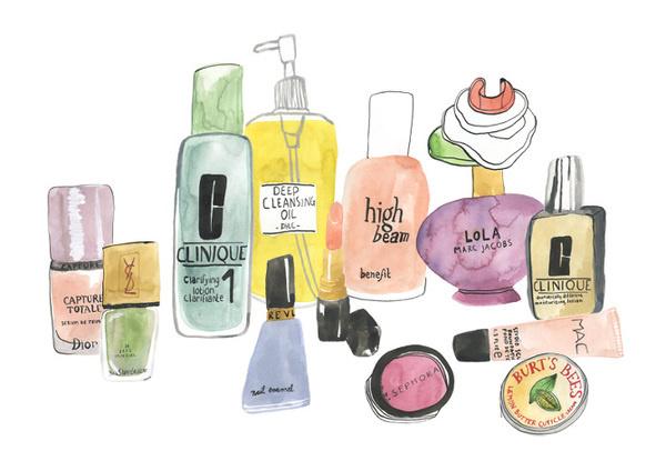 Make Up Bodil Jane #illustration