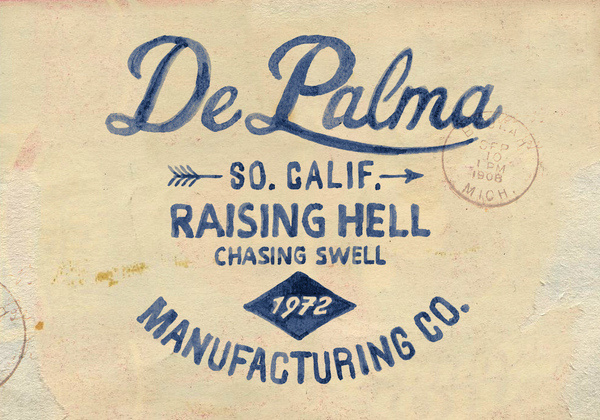 De Palma #bmd #lettering #typography