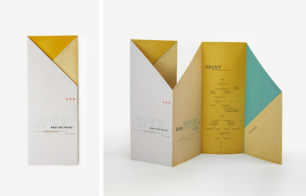 Great Alaska Paper Co. on Behance #folding