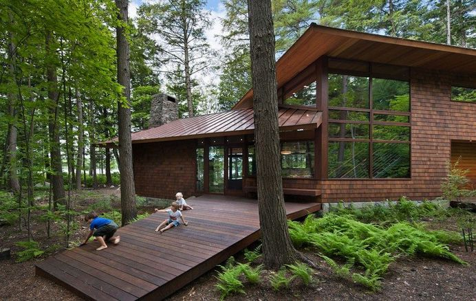 Lakeside Camping In New Hampshire Designed For Three Generations 1
