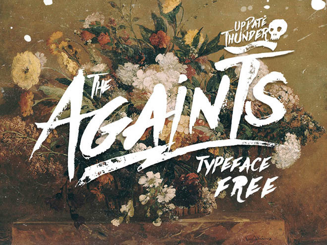 Againts Free Typeface