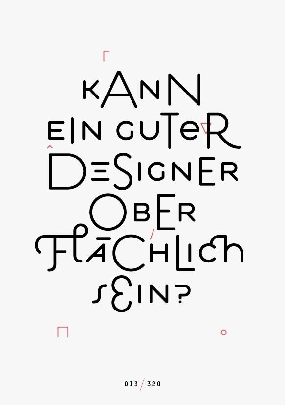 Designscheiß #inspiration #type #typography