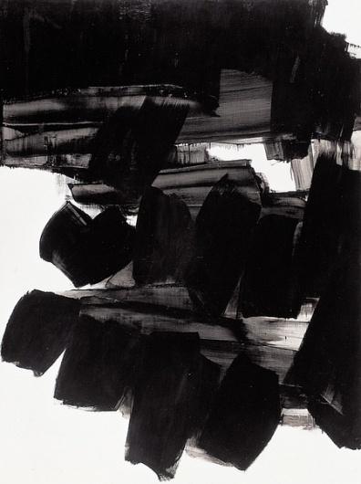 - bleu rouge noir blanc, Pierre Soulages #ink #pierre #soulages #art #drawing