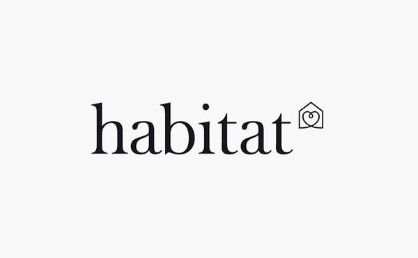 habitat logo design #logo #design