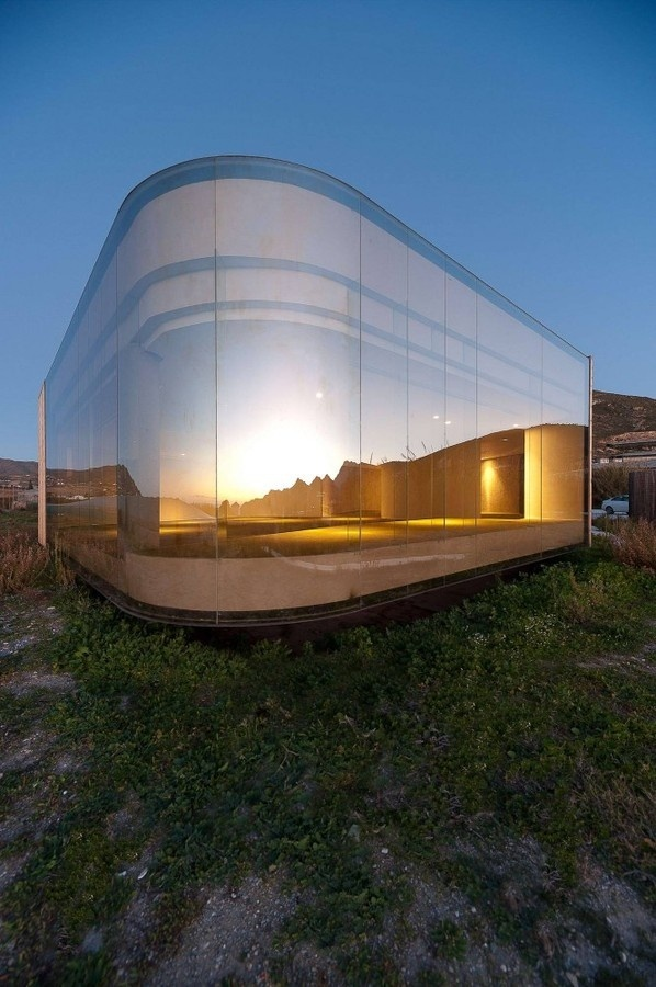 The Non Program Pavilion / Jesús Torres García • Architects #vitre