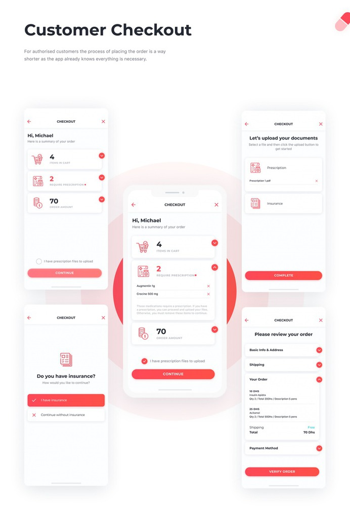 UI/UX | Smart Pharmacy app