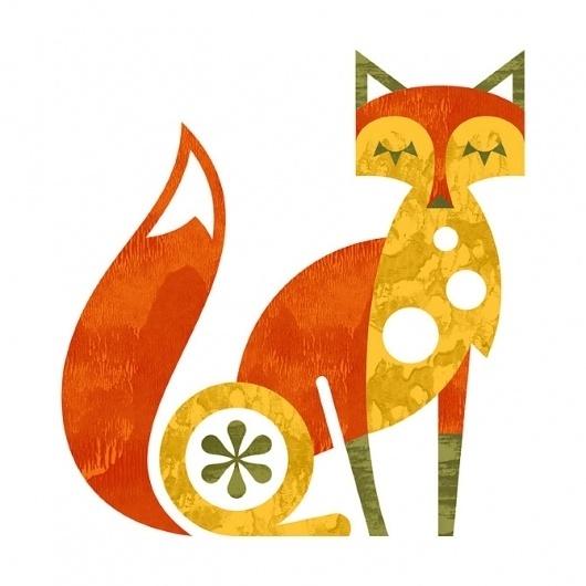 Ty Wilkins #illustration #minimal #fox