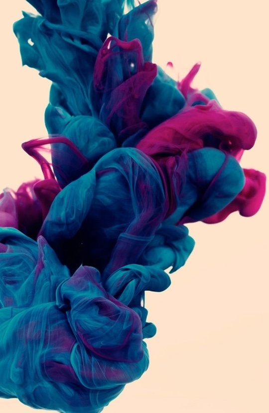 Underwater Ink Photography by Alberto Seveso | Apartment Therapy #photography