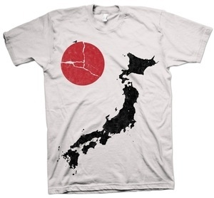 Hide & Seek Clothing — RELIEF TEE (100% Profit for Japan Relief. Pre-Order) #help #japan #donate