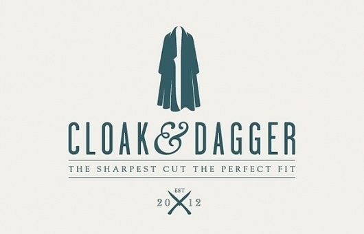 Samuel Clarke / Pinterest #cloakdagger #space #brand #idea #logo