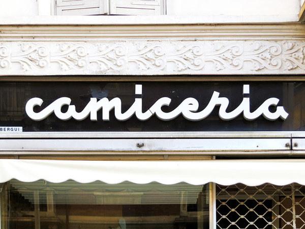 lettering via dante di nanni #lettering #italy